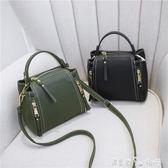 手提包 包包女新款潮韓版夏季 INS手提包斜背簡約單肩百搭學生迷你包 潔思米