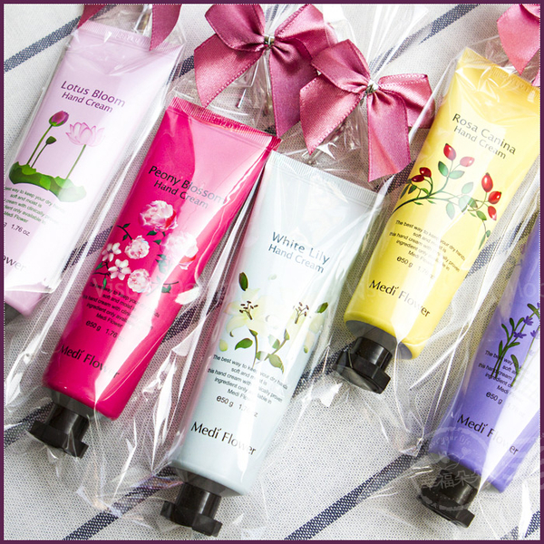(單包裝)韓國 Medi Flower秘密花園護手霜(50g-5款隨機) 幸福朵朵婚禮小物 伴娘姊妹閏蜜禮 生日禮物