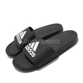 adidas 拖鞋 adilette Comfort Slides K 黑 白 女鞋 大童鞋 涼拖鞋 【ACS】 B27894
