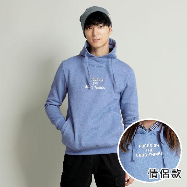 【101原創】台灣製.專注美好事物側口袋刷毛T(男)-7614037