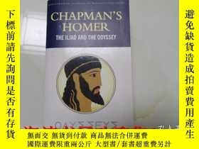 二手書博民逛書店英文書:CHAPMAN S罕見HOMER THE ILIAD A