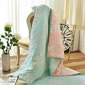 〔涼夏特惠〕義大利La Belle《花曜滿庭》純棉吸濕透氣涼被(5x6.5尺)MIT
