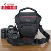 攝影包 佳能相機包單反三角包700D70D80D800D750D100D單肩便攜攝影包200D 城市科技
