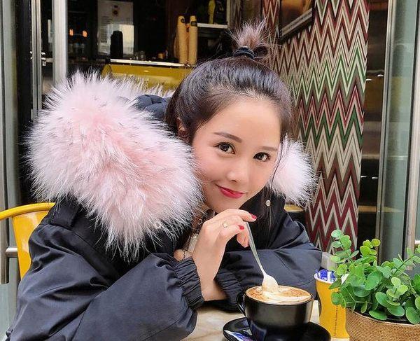【GZ81】韓國空運 甜美超大毛領短版防風羽絨鋪棉大衣 羽絨外套