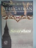 【書寶二手書T1/原文小說_OBK】Neverwhere_Gaiman, Neil