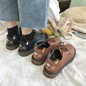 娃娃鞋皮鞋 新款英倫風復古ins小皮鞋女學生韓版百搭ulzzang冬季單鞋加絨 city精品