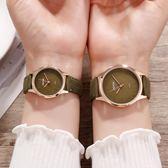 手錶 ins手錶女學生韓版簡約休閒大氣時尚潮流復古防水皮帶女表chic風 芭蕾朵朵