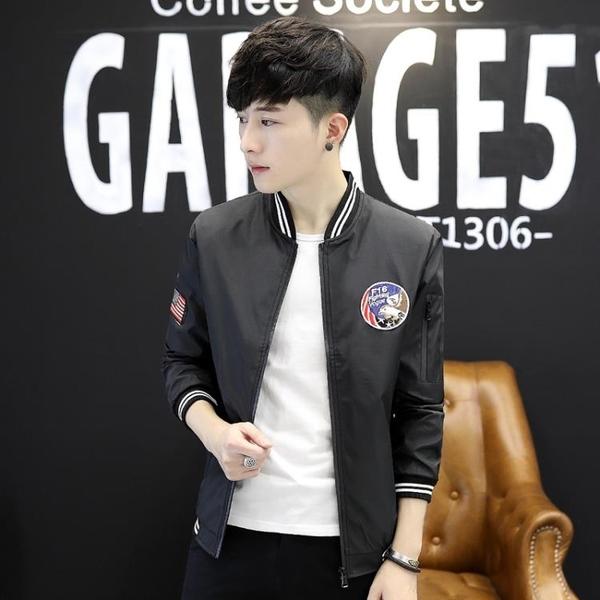 棒球外套 夾克 韓版潮流青少年外套