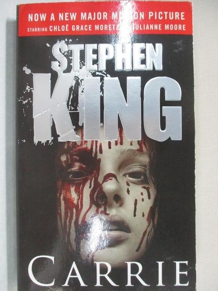 【書寶二手書T9/原文小說_IE8】Carrie-Now a Major Motion Picture_Stephen King