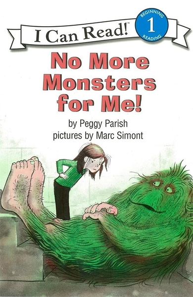 (二手書)An I Can Read Book Level 1: No More Monsters for Me!