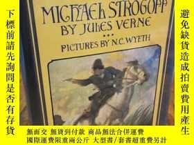 二手書博民逛書店Michael罕見Strogoff: A Courier of the Czar (Scribner Illust