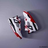 【母親節跨店現貨折後$8200】NIKE Jordan 4 Retro Fire Red 白 黑 紅 四代 喬丹 老屁股 AJ4 DC7770-160