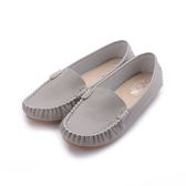 MATERIAL 縫線包子豆豆鞋 灰 36044 女鞋 鞋全家福