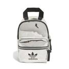 adidas 後背包 Mini Backpack 銀 黑 男女款 運動休閒 鏡面 迷你包 【PUMP306】 ED5884