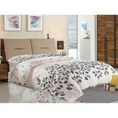 床架 SB-026-2 畢卡索5尺雙色雙人床 (床頭+床底)(不含床墊) 【大眾家居舘】