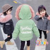 寶寶棉衣女冬裝兒童一歲韓版棉服2嬰兒3女童洋氣冬季加厚棉襖外套