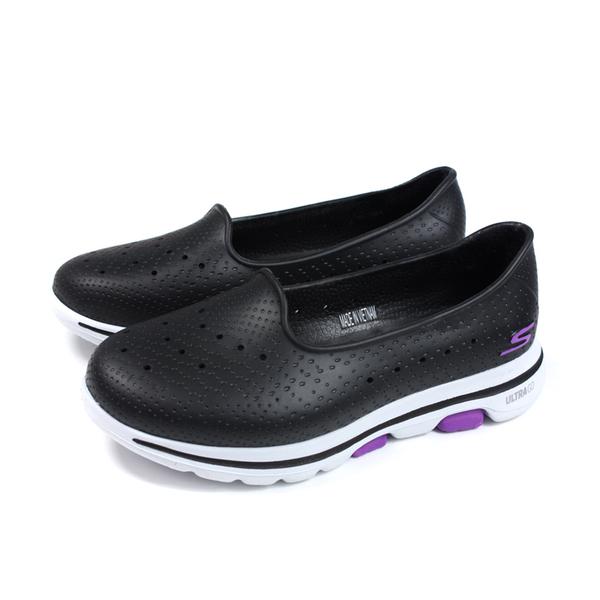 SKECHERS CALI GEAR 懶人鞋 防水 女鞋 黑色 111105WBKW no152