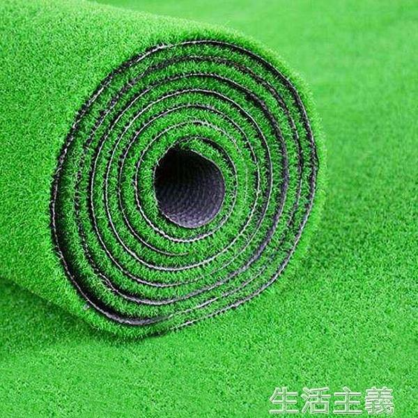 仿真植物 仿真草坪墊綠色假人造草皮足球場戶外綠植裝飾人工塑料幼兒園地毯 MKS生活主義