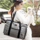 寵物包摺疊狗狗外出包狗背包貓包便攜包泰迪狗包袋旅行包狗狗用品 智能生活館