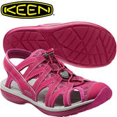 KEEN 1014685紅 Sage Sandal 女戶外護趾涼鞋 水陸兩用鞋/沙灘戲水拖鞋