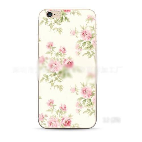 蘋果 iPhone 7/8 plus 手機殼 超薄 軟殼 小清新 碎花 藤蔓 水果 森林系 可愛 夢幻 氣質