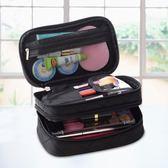 韓國旅行便攜小號多功能大容量化妝包手拿隨身迷你收納品袋簡約推薦(滿1000元折150元)