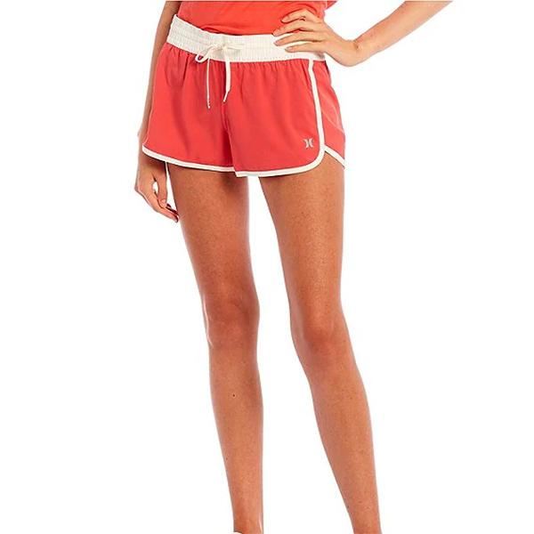 HURLEY|女 ZIP POCKET DOLPHIN HEM SHORT 短褲