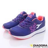 【DIADORA】多層色D楦吸震慢跑款-WR3397紫(女段)