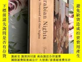 二手書博民逛書店天方夜譚罕見註釋版 美國著名的 Modern Library 版