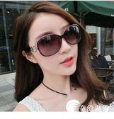 太陽眼鏡-墨鏡女潮明星款太陽鏡高檔玉晶質感太陽眼鏡漸變墨鏡復古原宿風-奇幻樂園