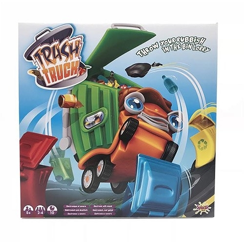 《 Trash Truck 》瘋狂垃圾車╭★ JOYBUS玩具百貨