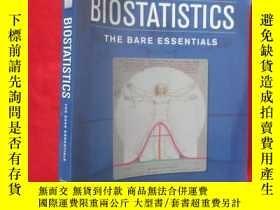 二手書博民逛書店Biostatistics:罕見The Bare Essenti
