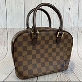 BRAND楓月 LOUIS VUITTON LV N51286 經典 棋盤 皮革 手提包 VINTAGE 小包