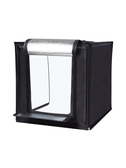 攝影棚攝影燈小型60cm大號攝影拍照燈箱折疊套裝柔光背景箱簡易淘寶產品拍攝台道具補光燈xw