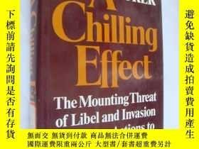 二手書博民逛書店A罕見Chilling Effect: The Mounting