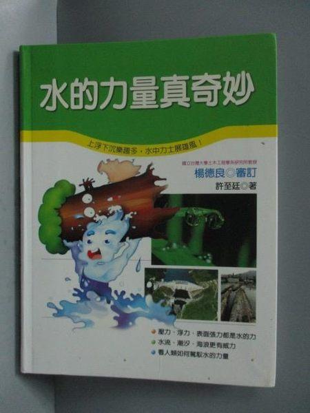 【書寶二手書T3/少年童書_OQF】水的力量真奇妙_許至廷