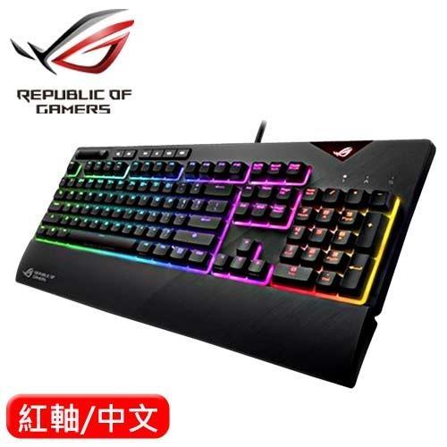 ASUS 華碩 Strix Flare RGB 機械電競鍵盤 Cherr