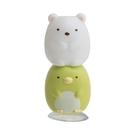SAN-X 角落生物 造型牙刷立架 角落小夥伴 大白熊&企鵝_XS78394