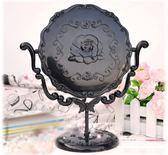 桌面復古台式化妝鏡子大號時尚梳妝鏡 強勢回歸 降價三天