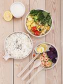 家用帶蓋泡面碗日式拉面碗筷湯碗學生宿舍飯碗碟套裝小麥秸稈餐具 萬聖節服飾九折