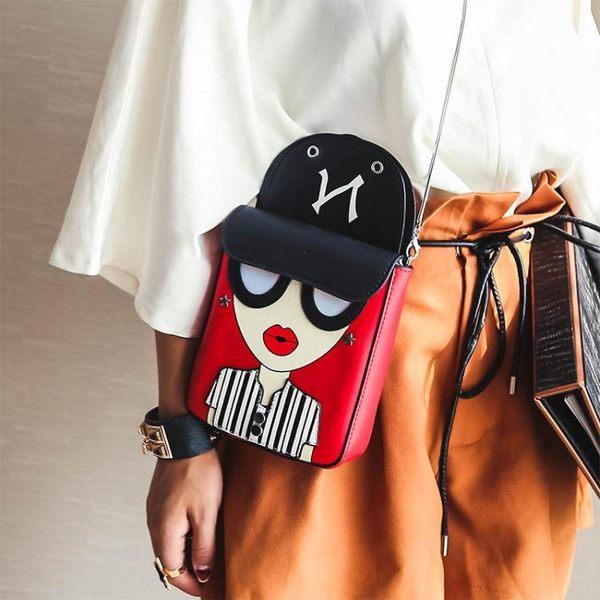 鏈條小包包女新款潮韓版百搭斜挎單肩手機包
