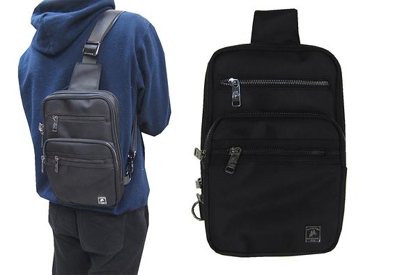 ~雪黛屋~SANDIA-POLO 單肩後背包小容量單左右肩雙後背二層主袋+外袋共六層防水BSP101841100