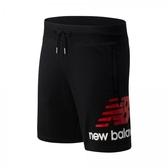 New Balance MEN LIFESTYLE 男款休閒短褲-NO.AMS01512BK