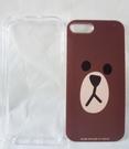 【震撼精品百貨】LINE FRIENDS_熊大~iPhone5/5s硬殼 『透明框+背殼』