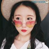 復古金屬愛心形墨鏡桃心太陽眼鏡洛麗的雜貨鋪