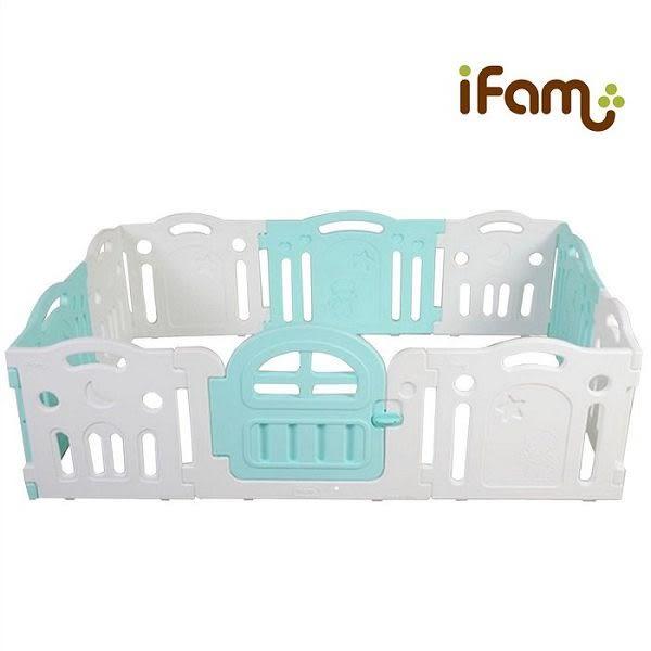 韓國 IFAM G尺寸遊戲圍欄/門欄/護欄-綠白搭