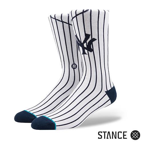 【STANCE】YANKEES HOME-男襪-MLB紐約洋基隊主場球衣款(M545A18YAN WHT)