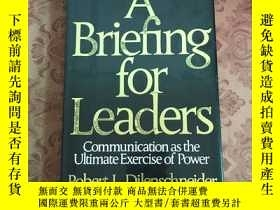 二手書博民逛書店A罕見Brieflng for leaders【詳看圖,免爭議】