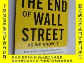 二手書博民逛書店Guide罕見to the end of wall street