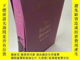 二手書博民逛書店英文原版the罕見father brown stories,布面